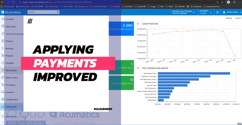 Acumatica-2019-R2-Enhanced-Customer-Payment-Applications