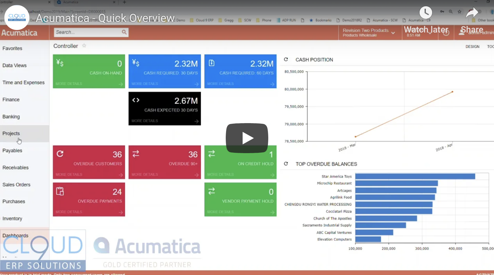 Acumatica-Demo-Quick-Overview
