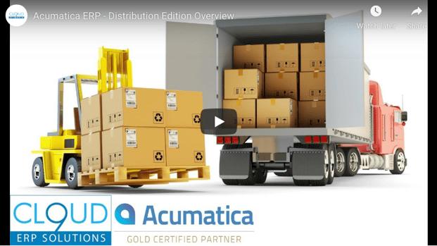Acumatica-Distribution-Demo