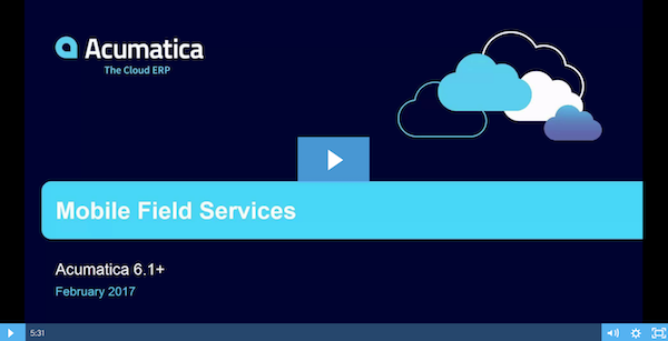 Acumatica-Field-Services