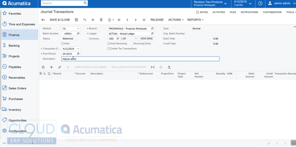 Entering-GL-Journal-Entries-Acumatica