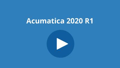 Acumatica 2020 R1 Demo Videos
